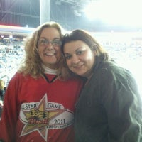 Photo taken at Rushmore Plaza Civic Center Ice Arena by Laura S. on 3/10/2012
