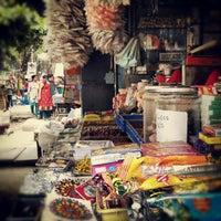 Photo taken at Gandhi Bazaar by Abhishek N. on 6/24/2012