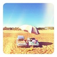 Photo taken at Kadriye Beach Park by Cemre on 9/6/2012