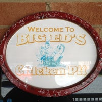 Photo taken at Big Ed's Chicken Pit by Justin M. on 3/10/2012