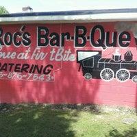 Photo taken at Roc's Bar B Que by Monty M. on 4/8/2012