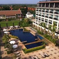 Photo taken at Angkor Miracle Resort & Spa by Jariya S. on 4/29/2012