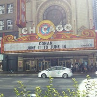 Photo taken at CONAN Chicago @ Chicago Theater by Melissasaurus on 6/15/2012