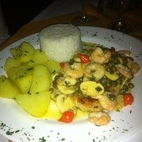 Photo taken at Saccaria Chopperia e Restaurante by W J. on 5/5/2012
