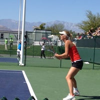 Photo taken at Indian Wells Tennis Garden by Chris C. on 3/8/2012