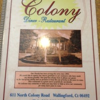 Photo taken at Colony Diner & Restaurant by Alex F. on 3/1/2012