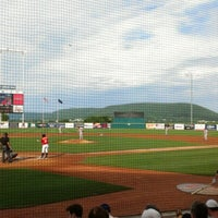 Photo taken at Medlar Field at Lubrano Park by Jason C. on 6/24/2012