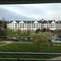Photo taken at The Osthoff Resort by Vicki S. on 4/25/2012