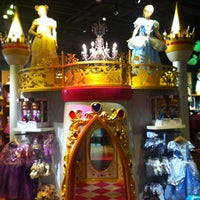 Photo taken at Disney Store by Britt A. on 7/14/2012