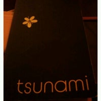 Photo taken at Tsunami by Jessica F. on 2/13/2012