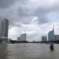 Photo taken at Tak Sin Pier by Doenj M. on 8/11/2012
