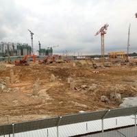 Photo taken at Bridge @ Punggol Walk by Theresa L. on 3/4/2012