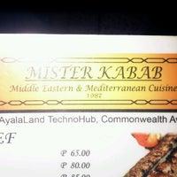 Photo taken at Mister Kabab by Elijah B. on 8/16/2012