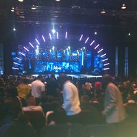 Photo taken at Mosaïek Teatro by Vanessa S. on 8/24/2012