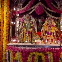 Photo taken at ISCKON Temple by karishma k. on 8/10/2012