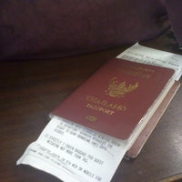 Photo taken at Thai Immigration: Passport Control - Zone 3 by Orarin K. on 3/16/2012