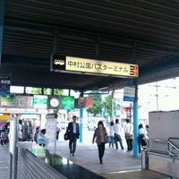 Photo taken at 中村公園バスターミナル by Yoshio O. on 5/30/2012