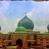 Photo taken at Masjid Agung An-Nur by Khairi H. on 4/6/2012