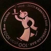 Photo taken at Loos-Bar by Veronika H. on 6/30/2012