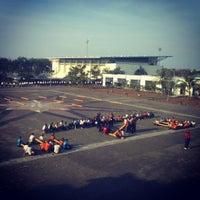 Photo taken at Sekolah Tinggi Ilmu Pelayaran (STIP) Marunda by Nancy A. on 9/13/2012
