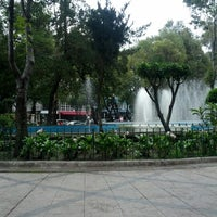 Photo taken at Plaza Luis Cabrera by Kat R. on 8/27/2012