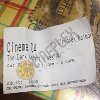Photo taken at Balmoral Cineplex by Jean C. on 7/21/2012