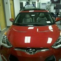 Photo taken at Hudson Hyundai by James S. on 3/18/2012