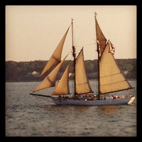 Photo taken at Vineyard Haven Harbor by Tyson G. on 6/21/2012