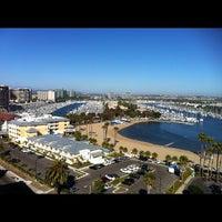 Photo taken at Marina Del Rey Marriott by Mayumi N. on 6/29/2012