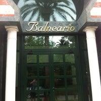 Photo taken at Balneario de Solares by Juanjo P. on 8/5/2012
