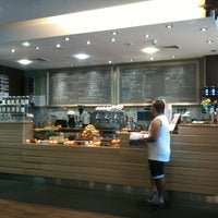 Photo taken at Green Coffee Holmes Place by Yulia L. on 8/19/2012