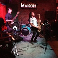 Photo taken at Maison by Anne Mims A. on 5/30/2012