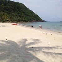 Photo taken at Koh Chang Grand Lagoona Resort by Boat W. on 4/13/2012