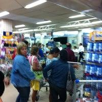 Photo taken at Mundial Supermercados by Mauricio P. on 5/2/2012