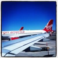 Photo taken at Virgin America by Ken P. on 8/6/2012