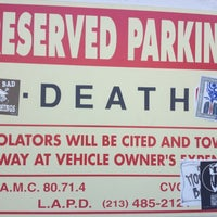 Photo taken at Museum of Death by Lisa Marie D. on 7/14/2012