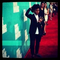 Photo taken at MTV Movie Awards Red Carpet by Jeff C. on 6/4/2012