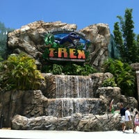 Photo taken at T-Rex Cafe by Robert N. on 7/8/2012