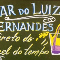 Photo taken at Bar do Luiz Fernandes by Prika U. on 5/12/2012