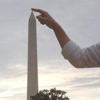 Photo taken at Washington Monument by Justin M. on 8/25/2012