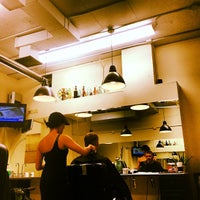 Photo taken at Mojo Barbershop by Aaron L. on 2/21/2012