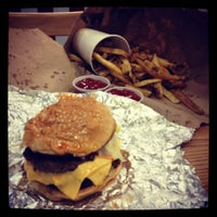 Photo taken at Five Guys by Gilbert T. on 3/23/2012