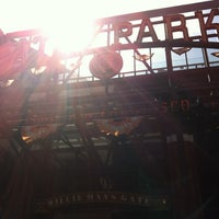 Photo taken at Willie Mays Gate by Nate E. on 7/15/2012