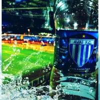 Photo taken at Estádio Aderbal Ramos da Silva (Ressacada) by Fernão B. on 8/8/2012
