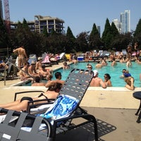 Photo taken at Grand Plaza Pool by Giancarlo T. on 7/4/2012