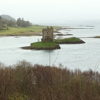 Photo taken at Castle Stalker View Cafe by Jerome N. on 4/8/2012