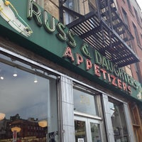 Photo taken at Russ & Daughters by Carolyn on 6/19/2012