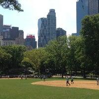 Photo taken at Heckscher Field by Mindy J. on 8/16/2012