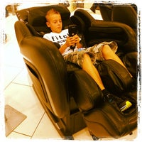 Photo taken at Brookstone by Heather on 8/14/2012
