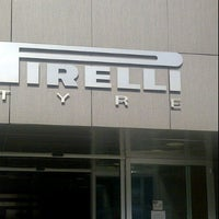 Photo taken at Pirelli Tyre by Stefano M. on 3/1/2012